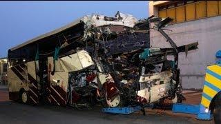 28 Tote bei Busunfall in Schweizer Autobahntunnel