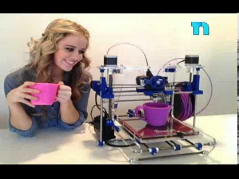 Impresoras 3d llegan a nuestros hogares para imprimir for Videos de impresoras 3d