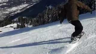 "Snowboarding: ""follow The Leader"""