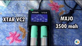 Xstar vc2 & MXJO 3500 mah (18650), unboxing n review baterai Vape/Vapor