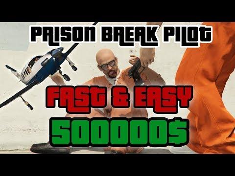 PRISON BREAK PILOT - AVOID JETS - GTA V