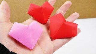 Süße 3D Herzen basteln | Niedliche Geschenk Idee & Überraschung zum Aufpusten