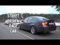 Street driven race car
