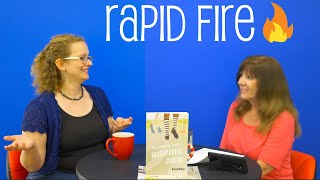 The Rapid Fire Book Tag | In Conversation with Alanna McFall | Part 7