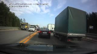 Авария на Новой Риге 21 08 2013
