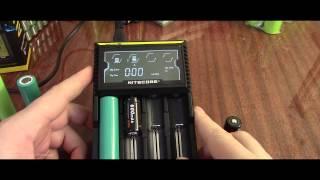 Полный обзор зарядного устройства Nitecore D4 (Li-ion, LiFePO4, NiMH)