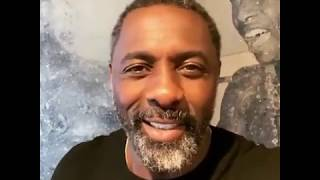 New Year message from our Brand Ambassador - Idris Elba