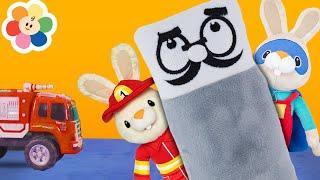 Johny Johny Yes Papa Song With ColorCrew & GooGoo Baby Toys | Kindergarten Nursery Rhymes For Kids