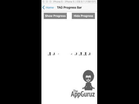 Add Custom Progress bar in your iOS Application