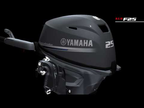 Yamaha Outboard Motors - New F25