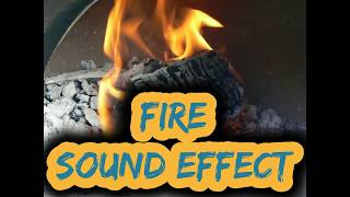 1 hour asmr of fire crackling sound effect on black screen to sleep