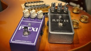 Purple Plexi Vs Jubilee - A Lovepedal Comparison With Sean Gibson Of The Noise Reel