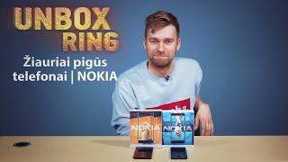 Žiauriai pigūs telefonai   NOKIA   Unbox Ring apžvalga