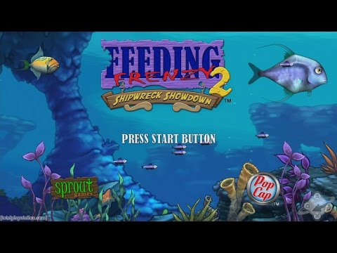 🐠🐟👍Feeding Frenzy 2 - Shipwreck Showdown - By PopCap Games - PS3/XBOX360  Classic👍