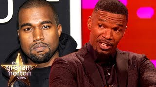 connectYoutube - Jamie Foxx Does a Brilliant Kanye West Impression | The Graham Norton Show