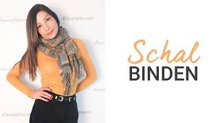 Schal binden | 5 einfache Techniken für einen Wollschal | natashagibson