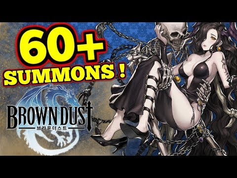 60+ SUMMONS! & World Boss : Brown Dust