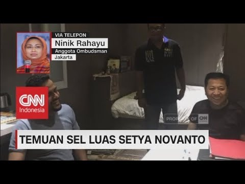 Temuan Sel Luas Setya Novanto; Ninik: Kamar Setnov Lebih Besar dari Napi Lainnya