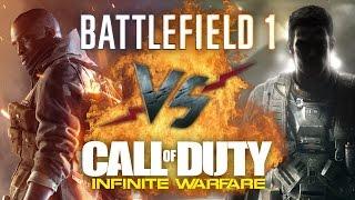 Рэп Баттл - Battlefield 1 vs. Call of Duty: Infinite Warfare