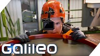 """""""Tag der Abrechnung!"""" - Ex Ninja Warrior-Kandidat im Galileo Speedrun   Galileo   ProSieben"""