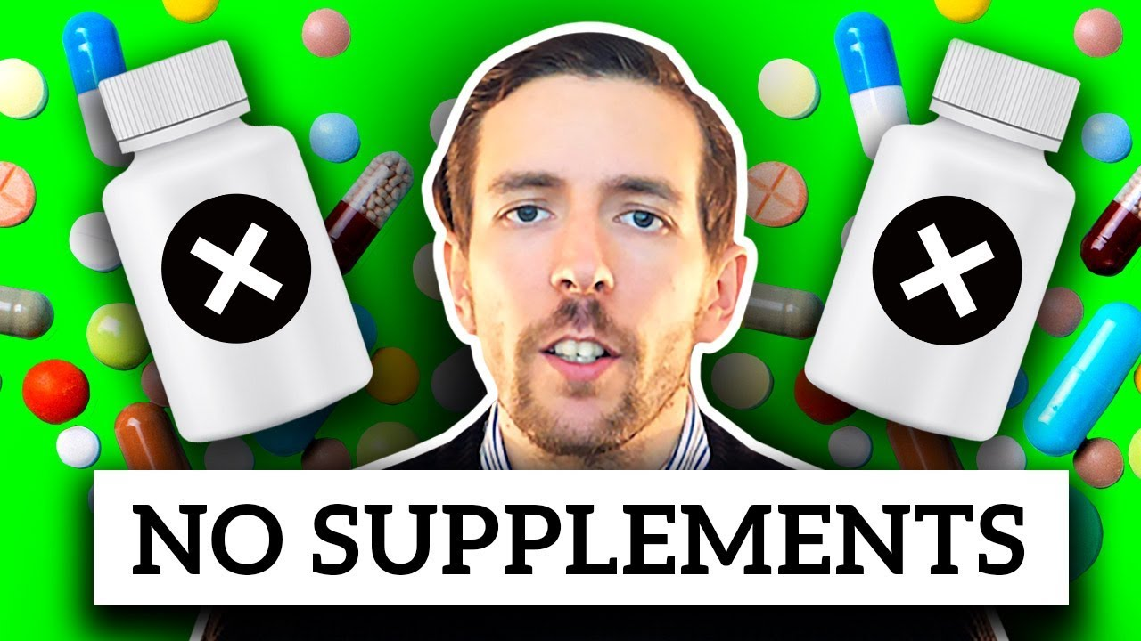 Why I Don't Take Supplements