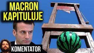 Makron Kapituluje Wobec Protestów w Paryżu Francji Żółte Kamizelki Chcemy Więcej Analiza Komentator
