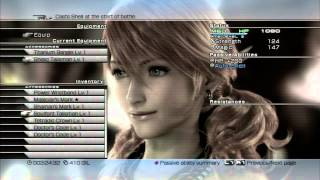 Final Fantasy XIII - Any% RTA Speedrun - 5:12:42 (Console WR as of September 5, 2015)
