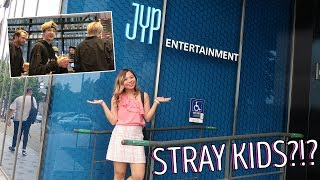 Visit to JYP Entertainment + Filming with Stray Kids?!? | Kye Sees