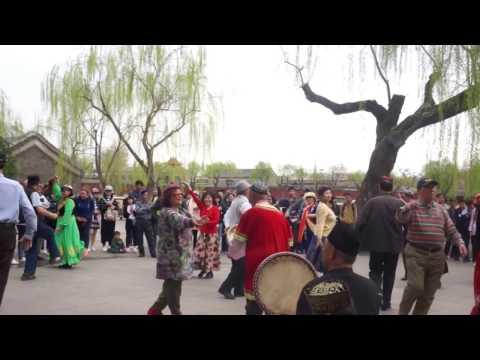 Local Dance in Beihai Park, Beijing.