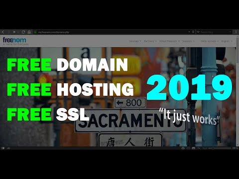 This still works! Free Domain Hosting SSL for WordPress 2019