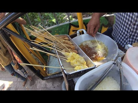 Indonesia Surabaya Street Food 2248 Part.1 MotorCycle Bilung YDXJ0667