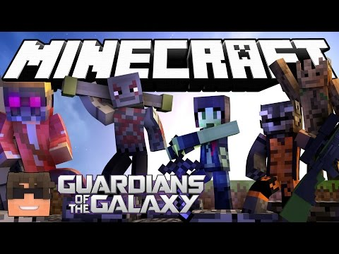 Minecraft Cops N Robbers! GUARDIANS OF THE GALAXY in Minecraft! (Minecraft Cops N Robbers Roleplay) - Видео из Майнкрафт (Minecraft)
