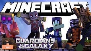 Minecraft Cops N Robbers! GUARDIANS OF THE GALAXY in Minecraft! (Minecraft Cops N Robbers Roleplay)