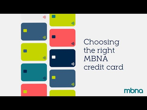 Choosing The Right Credit Card | MBNA