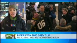 Grey Cup 2013 - Post Event Talk-Back with CTV News Channel, Toronto