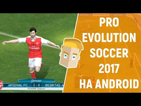 PRO EVOLUTION SOCCER PES 2017 НА ANDROID