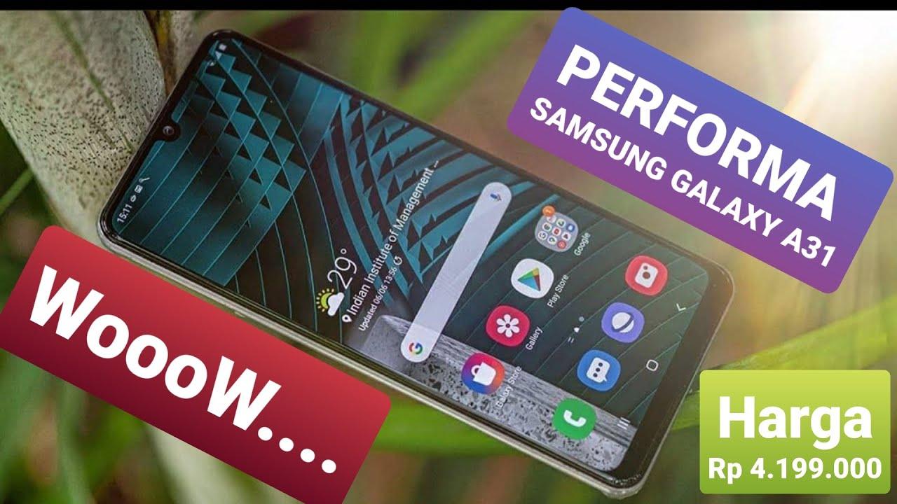 Samsung A31 Test