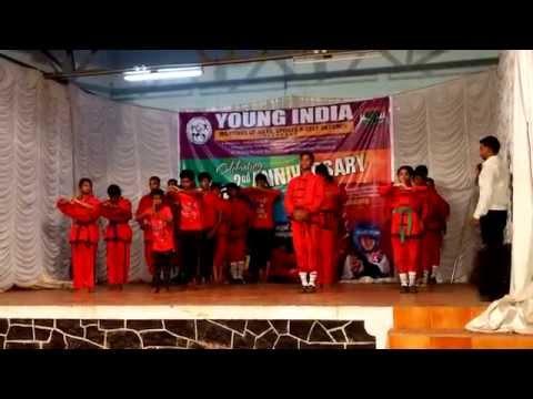 Young India Martial Arts Club Anniversary Program Performance Part 6