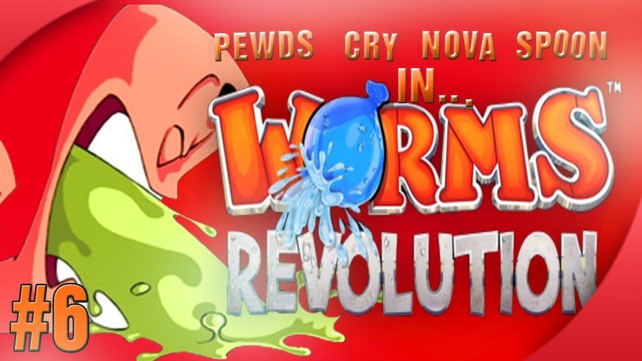 Worms Revolution (6) w/ Cry, Nova & Sp00n! Match 3 (FINAL)