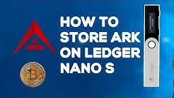 HOW TO STORE ARK ON LEDGER NANO HARDWARE WALLET TUTORIAL