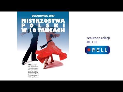 Mistrzostwa Polski PTT w 10 tańcach 04-05.11.2017 SOSNOWIEC (NIEDZIELA)