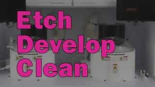 Spin Coater - Laurell Etch, Develop, and Clean.