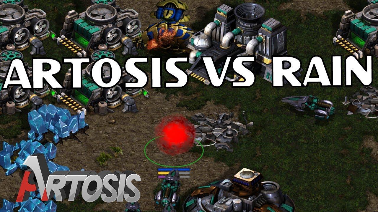 Artosis vs the GSL + ASL + KSL Champion Rain / StarCraft
