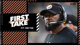 Stephen A. reacts to Mike Tomlin shutting down rumors about USC head coaching job | First Take