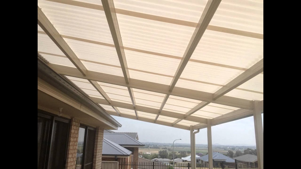 Polycarbonate Pergola Design Youtube