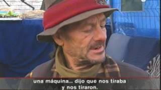 """TV3 - Telenotícies: Un dels 8.000 """"sense sostre"""""""