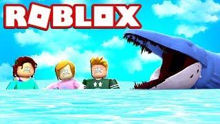 Roblox Sharkbite mit Molly und Freunden!
