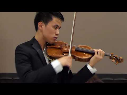 VC YOUNG ARTIST | Kevin Zhu, 18 – Paganini & Menuhin Competition 1st Prize Winner