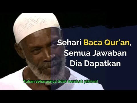 Mualaf Jamaika Ini Selama 35 Tahun Gagal Paham Bible 💥 Sehari Baca Al-Qur'an Langsung Terpesona