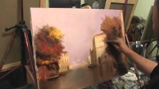 Картина Венеция Урок по живописи Игоря Сахарова